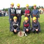 Poletna gasilska tekmovanja - Članice