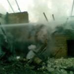 Požar na gospodarskem poslopju