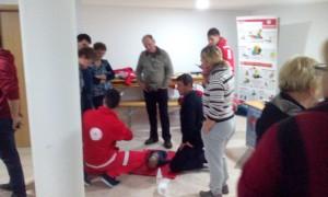 prikaz delovanja AED